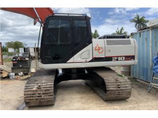 2013 Linkbelt 210x3 Excavadora , Equipo Construccion Puerto Rico