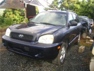 Hyundai Santa Fe 2002 2003 2004 2005 2006 , Puerto Rico