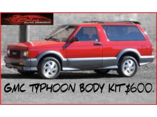 BODY KIT  GMC TYPHOON, Puerto Rico