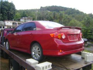 Toyota Corolla S 2009 2010 2011 2012 2013, Puerto Rico