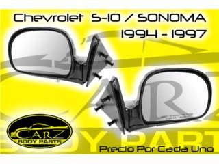 ESPEJO Chevrolet S-10 / SONOMA 94 - 97, Puerto Rico
