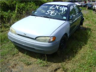 Hyundai Accent 1995 1996 1997 1998 1999, Puerto Rico