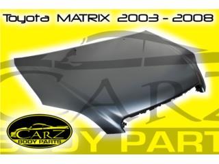 BONETE Toyota  MATRIX  2003 - 2008, Puerto Rico