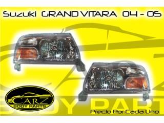FOCO Suzuki Grand VITARA 2004 - 2005, Puerto Rico
