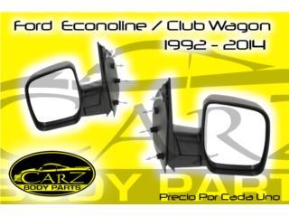 Espejo RETROVISOR Ford Econoline / Club Wagon, Puerto Rico