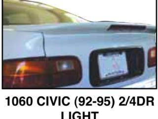 SPOILER BAUL HONDA CIVIC 1992 - 95, Puerto Rico