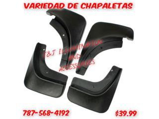 VARIEDAD DE CHAPALETAS PARA AUTO $39.99, Puerto Rico