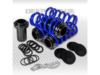 COILOVERS AZULES UNIVERSALES $85.00, Puerto Rico