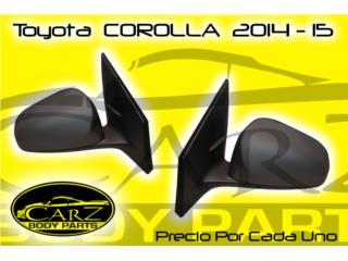 ESPEJO Retrovisor Toyota COROLLA 2014 - 2018, Puerto Rico