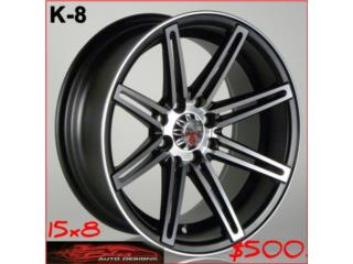 Aros / Wheels - AROS/WHEELS  K-8 15X8 Puerto Rico