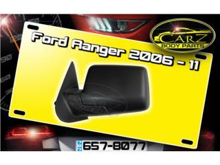 Espejo RETROVISOR Ford RANGER 2006 - 2011, Puerto Rico