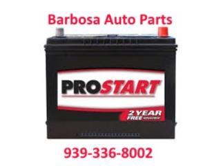 Bateria ProStart Toyota Mazda Honda Ford, Puerto Rico