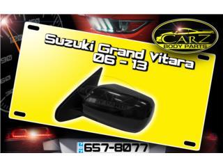 Espejo RETROVISOR Suzuki GRAND VITARA 06 - 13, Puerto Rico