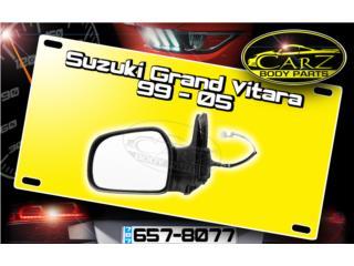 Espejo RETROVISOR Suzuki GRAND VITARA 99 - 05, Puerto Rico