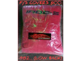 IROC-Z 1982  F/S COVERS (LOW BACK), Puerto Rico