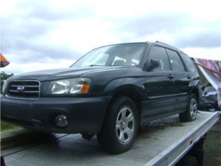 Subaru Forester 2.5L 2003 2004 2005 06 07 08, Puerto Rico