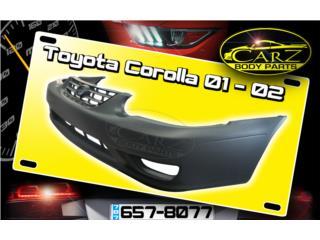 BUMPER Toyota COROLLA 2001 - 2002, Puerto Rico