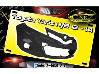 BUMPER Toyota YARIS 2012 - 2014 (Hatchback), Puerto Rico