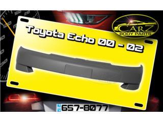 BUMPER Toyota ECHO 2000 - 2002, Puerto Rico