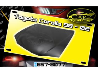 BONETE Toyota COROLLA 98 - 02, Puerto Rico