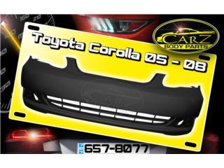 BUMPER Toyota COROLLA 2003 - 2008, Puerto Rico