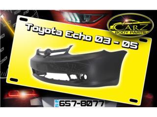 BUMPER Toyota ECHO 2003 - 2005, Puerto Rico