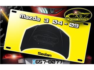 BONETE MAZDA 3 2004 - 2009 (Sedan), Puerto Rico