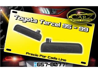 HANDLE de Puerta Toyota TERCEL 1995 - 1999, Puerto Rico