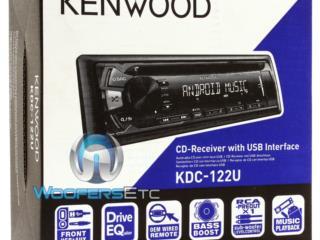 KENWOOD AM-FM-CD ipod, iphone, USB, remoto, Puerto Rico