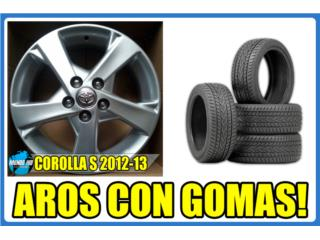 SET DE AROS COROLLA S 2012-13 16