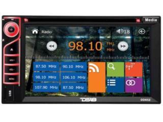 DS-18, AM-FM-CD-DVD-BT-USB, 6.2 touch screen, Puerto Rico