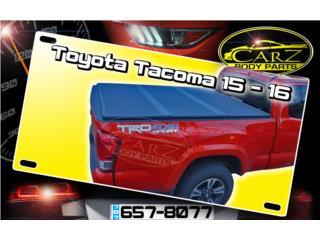 TAPA Dura para Cajón Toyota TACOMA 2005 - 15, Puerto Rico