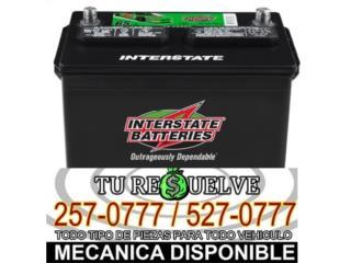 Baterias - BATERIAS INTERSTATE EN TAN SOLO $49.99  Puerto Rico