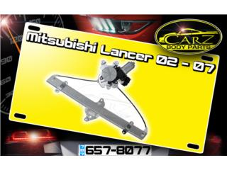 GRUAS de Cristal Mitsubishi LANCER 02 - 06 PW, Puerto Rico