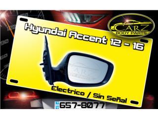 Espejo RETROVISOR Hyundai Accent 2012 - 2014, Puerto Rico