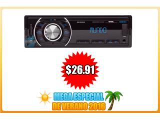 *MEGA ESPECIAL VERANO* RADIO -USB-SD-AUX-RCA-, Puerto Rico