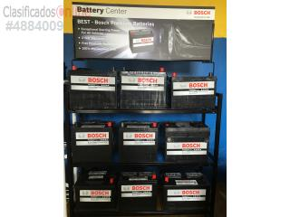Baterias Bosch  variedad 115.00 3a�os garant�, Puerto Rico