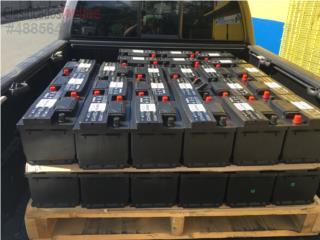 Baterias economicas 39.95 1 a�o de garantia, Puerto Rico