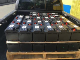 Baterias economicas 39.95 1 a�o de garant�a , Puerto Rico