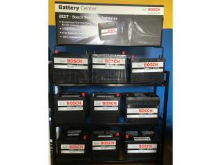 Baterias Bosch variedad 115.00 3 a�os garant�, Puerto Rico