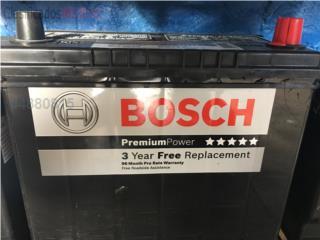 Bateria Bosch 51R, Puerto Rico
