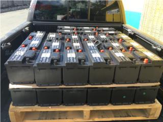 Baterias economicas 35.95 1 año de garantia, Puerto Rico