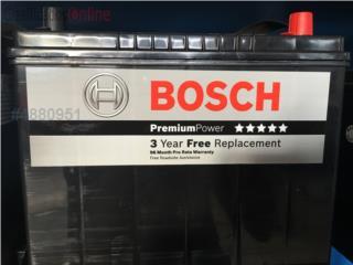 Baterias Bosch 115.00 3 a�os de garantia, Puerto Rico