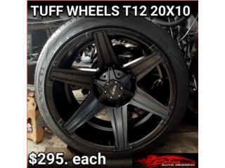 Aros / Wheels - AROS/WHEELS  TUFF WHEELS T12 20X10 Puerto Rico