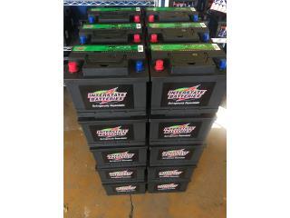 Baterias Interstate 44.99 1 año de garantía , Puerto Rico