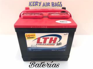 Baterias con garantias , Puerto Rico