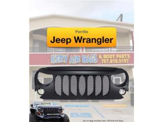 Parrilla Jeep Wrangler (La que buscas), Puerto Rico