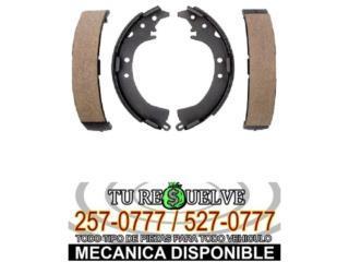 Frenos/Brakes - BANDAS FRENOS COROLLA/TERCEL 84-87 $18.99 Puerto Rico