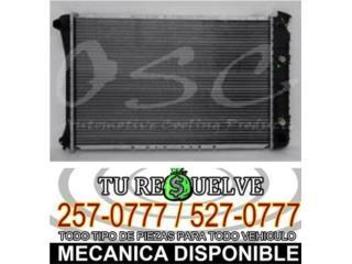 Radiadores/Radiators -  RODEO/PASSPORT 91-972.6/RODEO 91-92 3.1 Puerto Rico
