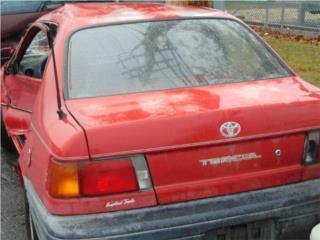 91-93 Toyota Tercel 1.5L Trans. Automática, Puerto Rico